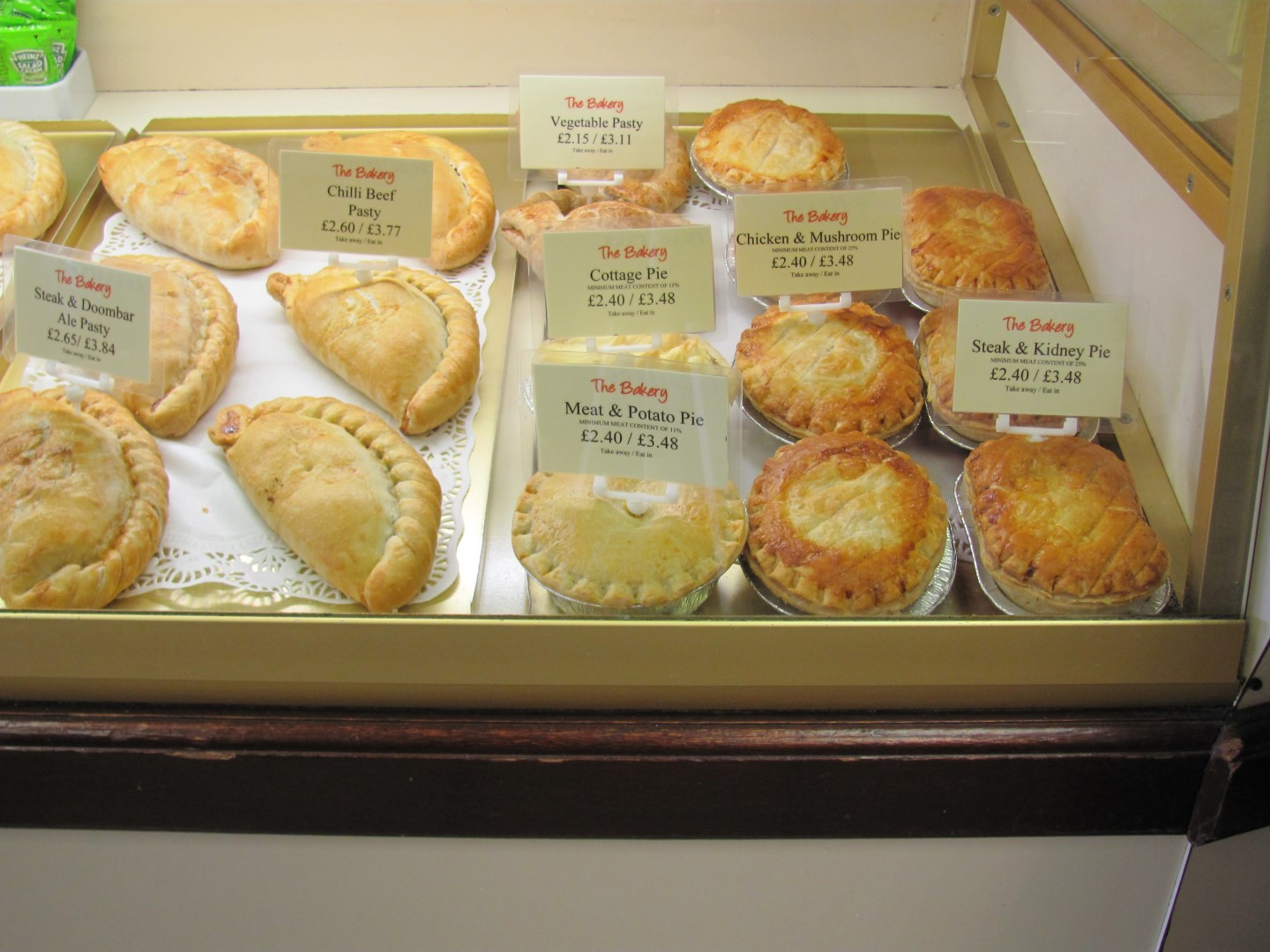 Pasties and Pies