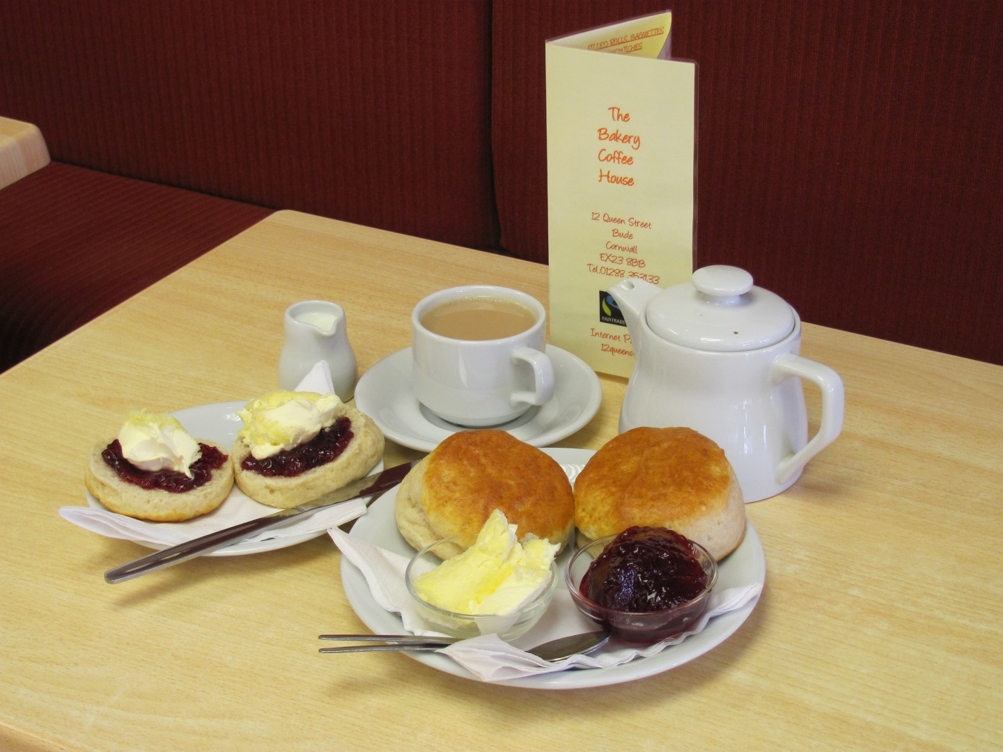Cream Teas and Scones